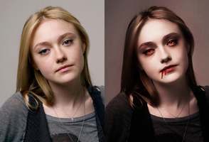 Jane Volturi I before after by Jeanne26