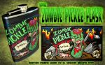 Zombie Pickle Flask Medley by ElVaqueroMuerto