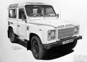 Land Rover Defender Piet Boon Edition 15 by SD1-art