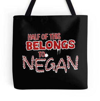 Half Of This Belongs To Negan design by Kitty17794