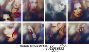 Keira Knightley Icons by Manueloid