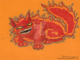 Fire Dex drawing by PizzaFisch