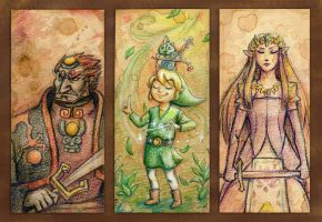 Zelda Bookmarks by Tuinen