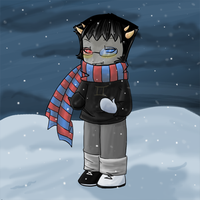 Scarf Two Sollux by DragoonWarrior