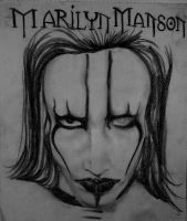 Marilyn Manson by Persefone999