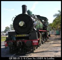 1089 drifts past Laidley depot by RedtailFox