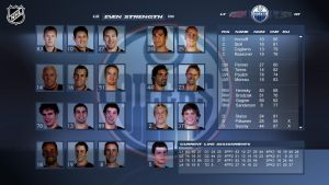 NHL Edit Lines Screen by shadowh3