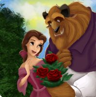 Beauty and the Beast by LahArt97