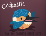 Birdstarter Day 30: Common Kingfisher by Furrama
