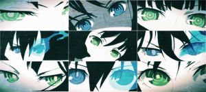 Dead Master And Black Rock Shooter Eyes by Noir-Black-Shooter