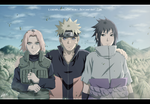 Team 7 - Reunited and better than ever by LiderAlianzaShinobi