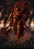 Kharn the Betrayer by Filip-Hammer