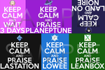 Keep Calm Neptunia by karto1989
