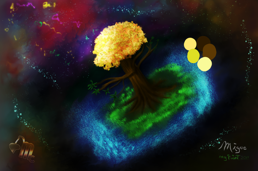 Landscape FreeStyles Naturally Space 100% MyPaint by BikerMice2015