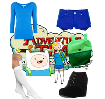 Adventure Time- Finn/Fionna by brie-grimes-twd