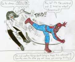 Spiderman vs Jeff The Killer by Jose-Ramiro