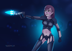FemShep - New Suit by VaultMan