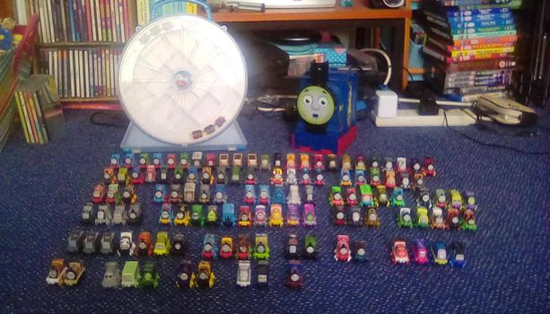 Thomas Minis Collection Updated by ewan4me