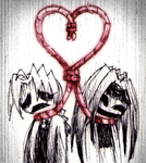 Strangled By The Red String by StitchedUpZombie