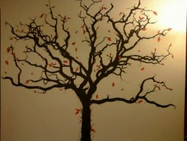 TREE MURAL by KYLE-CHANEY