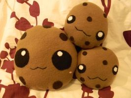 Cookie Plushies by Auradell