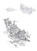 flying ships concept by lordoffog