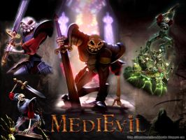 Medievil Wallpaper by Siddhartha612