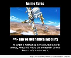 Anime Rule #4 by ArkaMustang