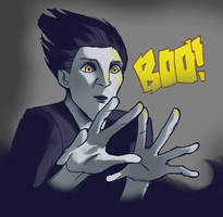 BOO! by LadyDeadPooly
