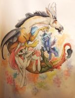 Discord by QueenAnneka