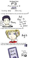 Persona 3 Meme by havenwolds
