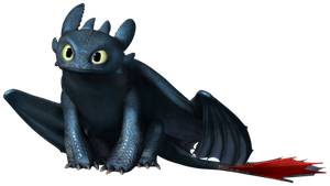 Toothless the Dragon by Lati-Heroes