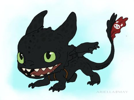 Toothless POP! by AriellaMay