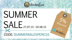 Last 2 hours of SUMMERSALE5PERC15 by Greencherryplum