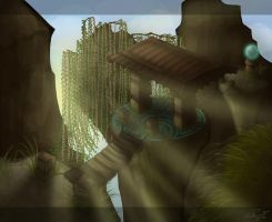 Willowed Bridge: Finalized by PeacefulSeraph