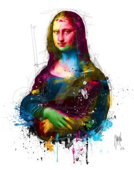 Mona Lisa by Murciano