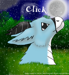 Badge Commission for Click by chloerosewolf