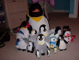 Penguin collection by Karrotcakes