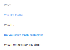 WRATH NOT MATH by Bloodstainedhowl
