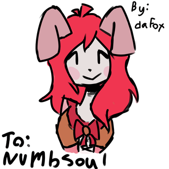 Gift for Numbsoul (wiggle gif) by daFox11