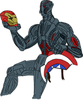 Ultron by Dragon-Flash