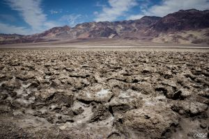 Salt pan in Death Valley by MCL28