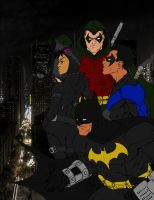 Batman and Co. by Icecat13