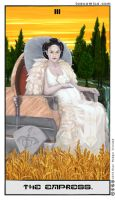 Star Wars Tarot: The Empress by theory-of-everything