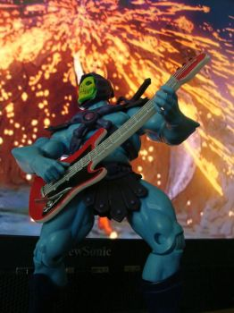 my skeletor rocks by chachaman