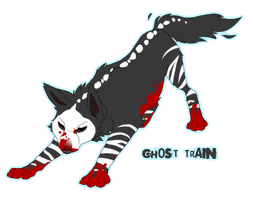 Ghost train by WillowWhiskers