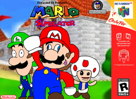 Mario Simulator Box Art by LuigiBroZ