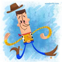 Woody by xanderthurteen