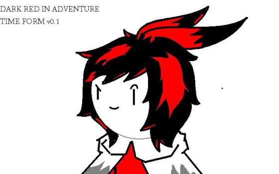 DarkRed in Adventure time form v0.1 by DRKRD