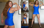 Lindsay Mulinazzi In Blue Photo Set 1 by zenx007
